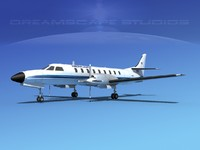 metroliner sa226 swearingen 3d 3ds