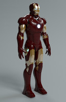 ironman mark 3 3d model