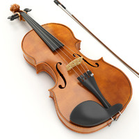 3ds max violin instrument