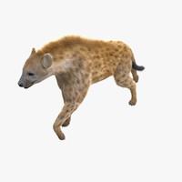 hyena pose fur max