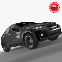 x6 car 3d model
