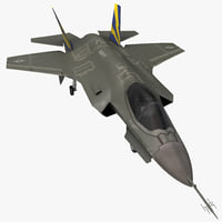 Fighter Aircraft Lockheed Martin F-35 Lightning II