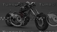 motorcycle bikes 3d model