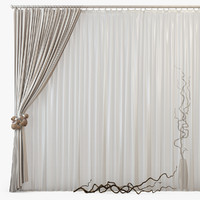curtains m22 3d max