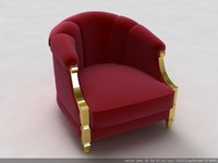 3ds max chair