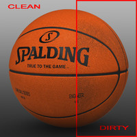 Basketball ball orange