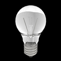 Light Bulb lamp nr.1 3D Model (UV unwrapped)