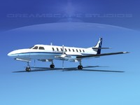 metroliner sa226 swearingen 3ds
