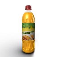 free obj model mangola drink