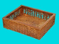 old wicker basket max