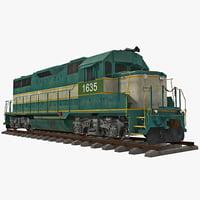 obj locomotive loco