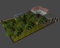3ds max rural household