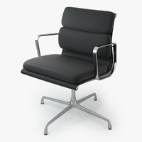 eames soft pad chair max