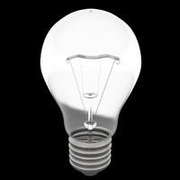light bulb lamp nr 3d model