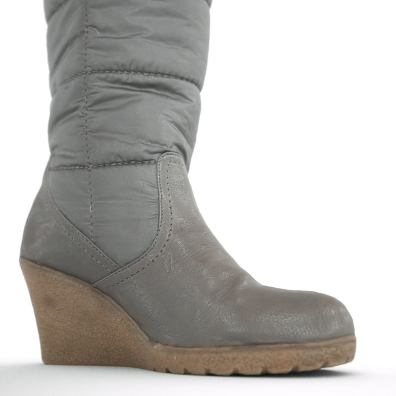 obj winter wedge boot