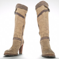 maya kneehigh boots zipper