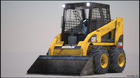 mini loader 3d obj