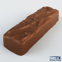 3d mars chocolate bar model