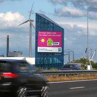 Highway advertising sign billboard Amsterdam A5