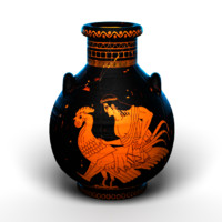 3ds max realistic ancient greek vase