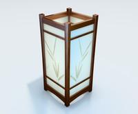 Japanese lamp