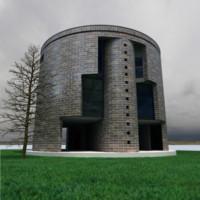 casa house 3d model