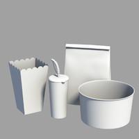 3d model stuff paper