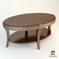 baker journal table 3455 3d model