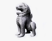 ancient lion statue 3d max
