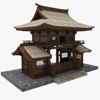 maya japanese gate