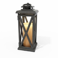 3d model lantern lamp lighting