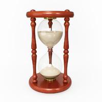 sand clock 3d max