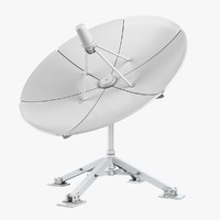 antena dish 3d model