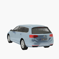 passat b8 wagon 3ds