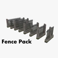 obj modular fence pack
