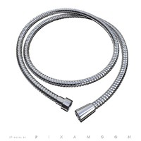 free adjustable shower hose - 3d model