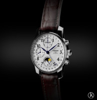 longines watch 3d c4d