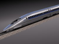 3ds max 2014 speed shinkansen