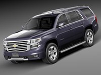 3ds 2015 chevrolet tahoe