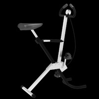 3d gym tool cyclette model