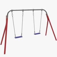 double swing 3d fbx