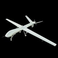 MQ-9 Reaper UAV drone aircraft (UV-Unwrapped, no t