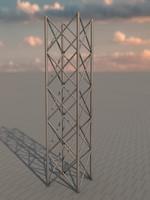 free scaffolding 3d model