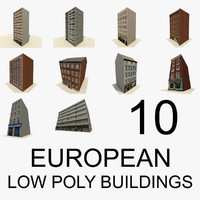 3d 3ds european buildings 10