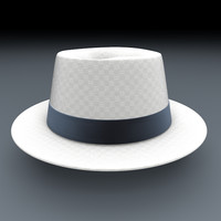 3ds max realistic casual hat