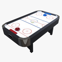 3d air hockey table
