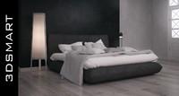 3d max jalis bed