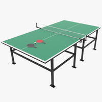 3d ma table tennis