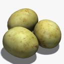 Baked Potato 3D models