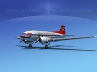 Douglas DC-3 Braniff Intl